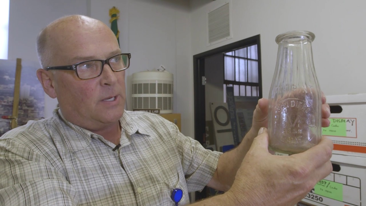 VIDEO: Bottled Up: Unearthed Artifacts Now on Display