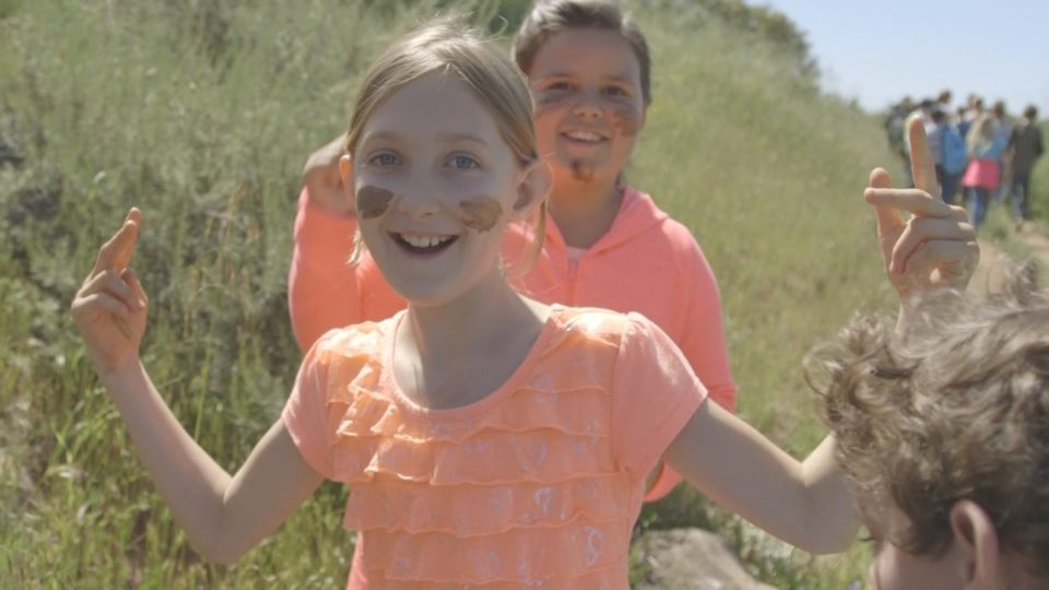 VIDEO: Kids Learn on Trails to the Past