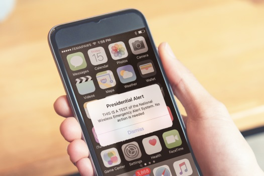 FEMA to test 'Presidential Alert' system next week