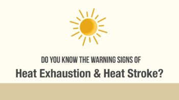 What to Do If You're Suffering from Heat Stroke, Exhaustion