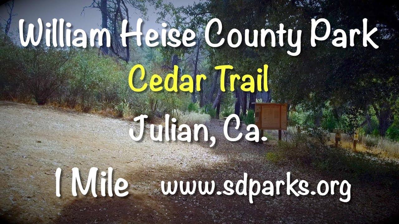 William Heise Cedar Trail Virtual Hike