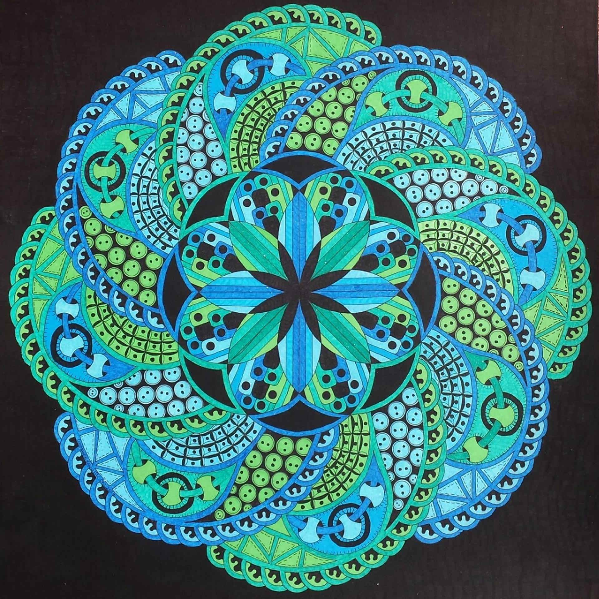 Older Americans Month: Zentangle Hummingbird Art Class